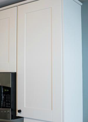 Modern Twist White Cabinetry