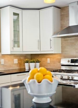 Sunlit Lemons and Cabinetry