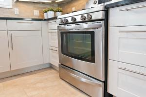 Sunlit Stainless Steel Appliances