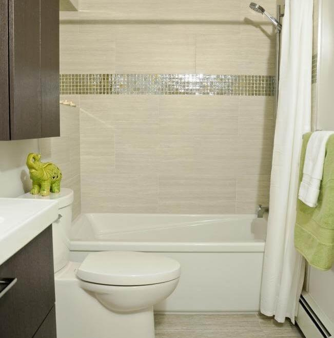 Serenity Bathroom Renovation Ottawa – Dual Shower Rods