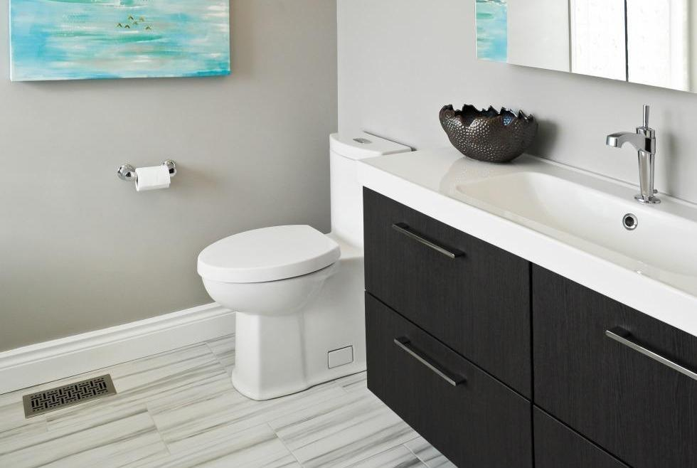 Aperture Bathroom Renovation Ottawa – comfortable flooring
