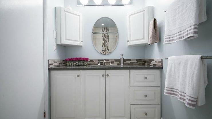 Cove Bathroom Renovation Ottawa – Vanity Close