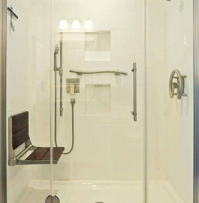 Reliable Accessible Bathroom Renovation Ottawa – Shower Seat and Hinges