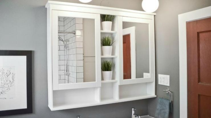 Simple and Clean Bathroom Renovation Ottawa – IKEA Cabinetry
